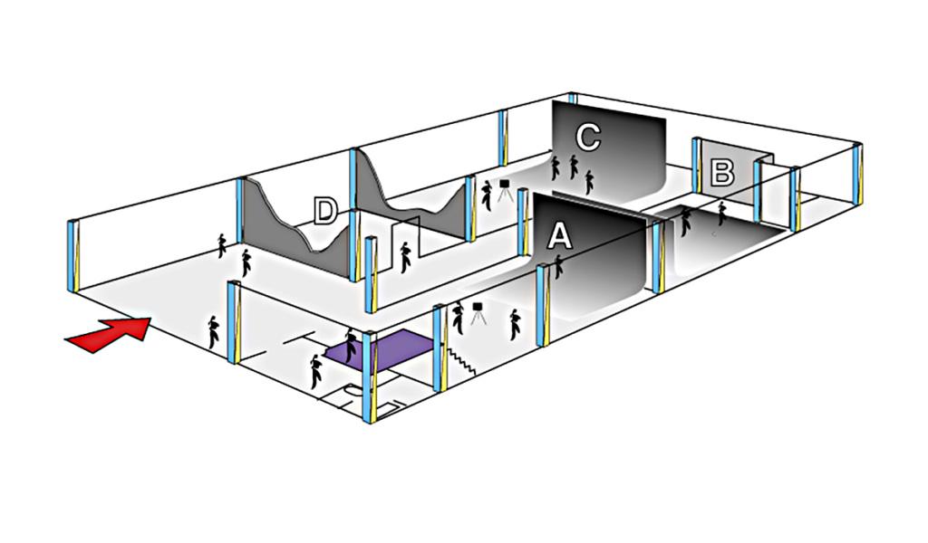 Piantina 3D Instudio Roma